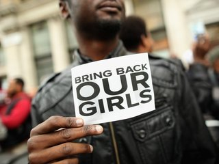 Nigerian army rescues some abducted school girls