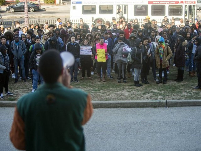 Peaceful protest at Fort Worth high school becomes racially-charged skirmish