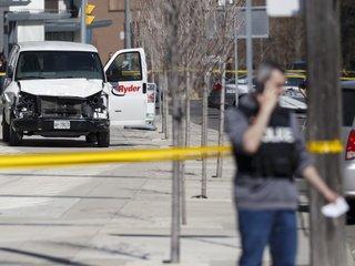 Van drives into Toronto crowd