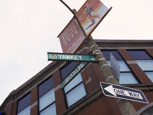 Name of Yawkey Way Officially Changed to Jersey Street
