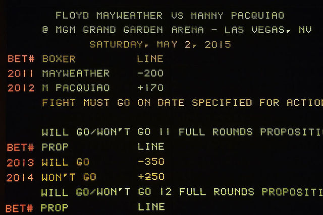 Mgm grand boxing betting line master 2 contentieux et arbitrage betting