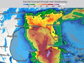 Tropical weather system to hit Gulf Coast