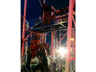 2 people fall 34-feet after coaster derails