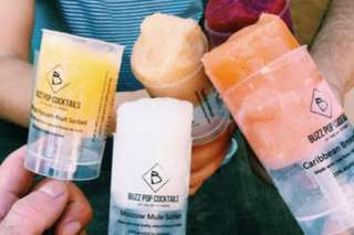 Boozy push-up popsicles are now a thing