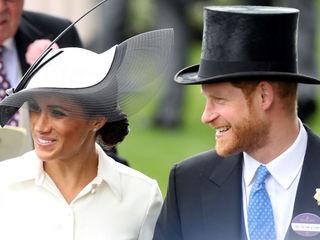 Photos: Prince Harry, Meghan at Royal Ascot