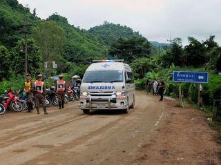 Thai cave rescue: Eight boys freed so far