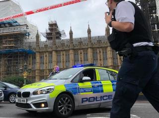 London crash to be treated as terrorist incident
