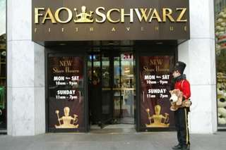 FAO Schwarz reopening after sudden closure