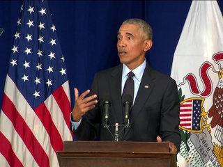 Obama implores Californians to vote
