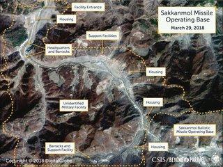 Images show hidden N. Korea missile bases